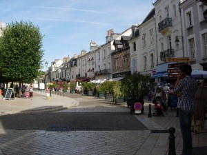Amboise is beautiful when the sun shines